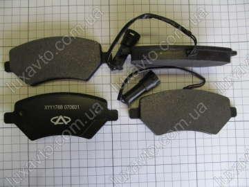 Тормозные колодки передние Чери Истар В11 (Chery Eastar), Чери Элара А21 (Chery Elara), Чери Тиго Т11 (Chery Tiggo), ЗАЗ Форза (ZAZ Forza) Чери А13