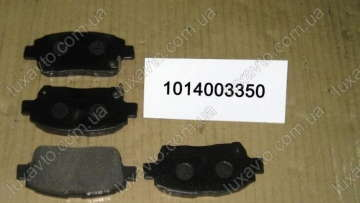 Колодки тормозные передние BYD F3[1.6, -2010г.], Geely FC, Geely GC6 [LG-4], Geely MK1 [1.6, -2010г.], Geely MK2 [1.5, 2010г.-], Geely MKCross [HB], Geely SL, Lifan 620 [Solano]