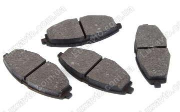 Тормозные колодки Дэу Ланос 1.5 (Daewoo Lanos), ЗАЗ Сенс (Sens), Дэу Матиз (Daewoo Matiz) передние SP