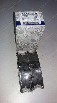 тормозные колодки шевроле авео (chevrolet aveo) передние konner