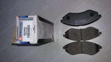 тормозные колодки шевроле авео (chevrolet aveo) передние koreastar