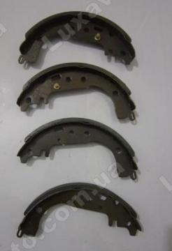 Колодки ручника, ручного тормоза (комплект) BYD F3[1.6, -2010г.], Geely FC, Geely SL