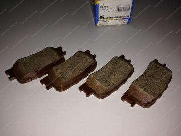 Колодки тормозные задние, дисковые Chery Elara [2.0] (-2011)