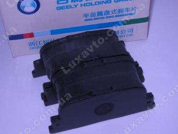 Колодки тормозные задние, дисковые BYD F3[ -2012г.,1.5], BYD F3[1.6, -2010г.], BYD F3R[1.5,HB], Geely FC, Geely SL