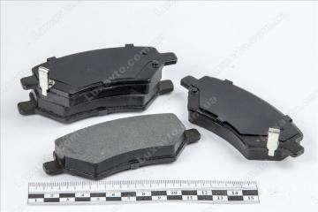 Колодки тормозные передние (CK без ABS, с пружинками) Chery Amulet [1.6,-2010г.], Chery Eastar [B11,2.4, AT], Chery Tiggo [2.0, -2010г.], Chery Tiggo [2.4, -2010г.,MT], Geely CK1F[2011г.-]
