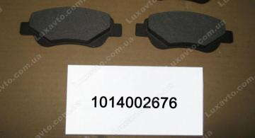 Колодки тормозные передние Geely LC [GC2], Geely LCCross [GX2]