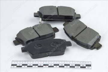 Колодки тормозные передние BYD F3[1.6, -2010г.], BYD F3R[1.5,HB], Geely FC, Geely GC6 [LG-4], Geely MK1 [1.6, -2010г.], Geely MK2 [1.5, 2010г.-], Geely MKCross [HB], Geely SL, Lifan 620 [Solano]