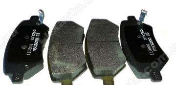 Колодки тормозные передние Chery QQ[0.8, S11], Chery QQ[S11, 1.1]