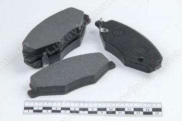 Колодки тормозные передние (6GN, без пружинок) Chery Amulet [1.6,-2010г.], Chery Amulet [-2012г.,1.5]
