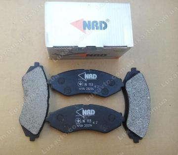 Тормозные колодки Дэу Ланос 1.6 (Daewoo Lanos) передние NRD