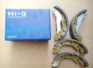 Тормозные колодки Шевроле Ланос 1.5 (Chevrolet Lanos), Дэу Нексия 1.5 (Daewoo Nexia), ЗАЗ Сенс (Sens) задние HI-Q Корея