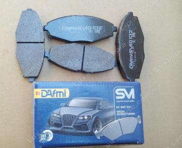 Тормозные колодки Шевроле Ланос (Chevrolet Lanos), Дэу Матиз 13 передние Dafmi CM