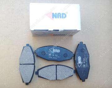 Тормозные колодки Шевроле Ланос (Chevrolet Lanos), Дэу Матиз 13 передние NRD