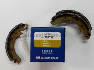Тормозные колодки Дэу Матиз (Daewoo Matiz) задние Hi-Q Корея