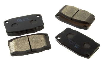 Тормозные колодки передние Дэу Нексия (Daewoo Nexia) 95-03 старого образца HORT Германия