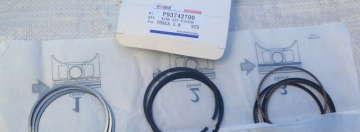 Кольца поршневые Шевроле Лачетти 1.8 LDA (Chevrolet Lacetti) (2-ой ремонт +0.5 мм) Kobis
