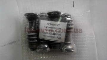 Направляющие суппорта Шевроле Авео (Chevrolet Aveo)  0.5 мм упакованные (4 шт + пыльник)