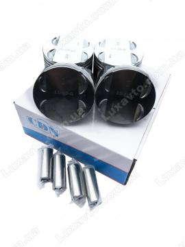 Поршни Чери Элара А21 2.0L (Chery Elara), Чери Истар B11 2.0L (Chery Eastar), Чери Тиго Т11 (Chery Tiggo) 4 шт комплект + пальцы стандарт(CDN) 484 484F-1004020