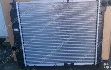 Радиатор охлаждения Шевроле Авео 1.2-1.4 8V (Chevrolet Aveo) T200, 250 с/к. б/к Thermotec 480м
