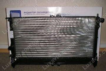 Радиатор охлаждения Дэу Ланос (Daewoo Lanos) без кондиционера AT