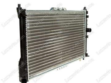 Радиатор охлаждения Дэу Ланос (Daewoo Lanos) с кондиционером GM