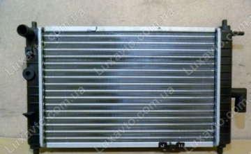 Радиатор охлаждения Дэу Матиз 0.8-1.0 (Daewoo Matiz) M150 MКПП GM