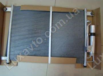 Радиатор кондиционера Шевроле Авео 1.5-1.6 (Chevrolet Aveo) (T200,250) HCC (HALLA) с бачком