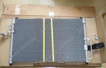 Радиатор кондиционера Дэу Нубира (Daewoo Nubira)1 ST без ресивера (бачка)