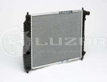 Радиатор основной 480 мм Luzar Шевроле Авео 1.5-1.6 (Chevrolet Aveo)  без кондиционера МКПП