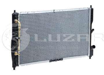 Радиатор основной Дэу Ланос 1.4 (Daewoo Lanos) автамат Luzar (алюм-паяный) 2011г-