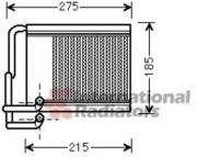 Радиатор отопителя HYUNAI I30 (пр-во Van Wezel) Van Wezel