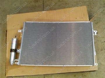 Радиатор кондиционера Шевроле Лачетти (Chevrolet Lacetti) (КМС)
