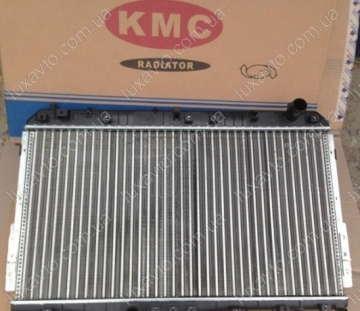 Радиатор охлаждения Шевроле Лачетти 1.6 (Chevrolet Lacetti) МКПП КМС