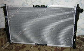 Радиатор охлаждения Дэу Ланос (Daewoo Lanos) EXTRA с кондиционером