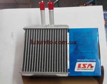 Радиатор печки (отопителя) Дэу Ланос (Daewoo Lanos) LSA алюминиевый