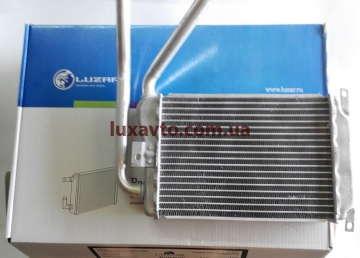 Радиатор печки (отопителя) Дэу Нексия (Daewoo Nexia) Luzar узкий
