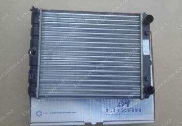 Радиатор основной Таврия 1102, Славута Luzar алюминиевый