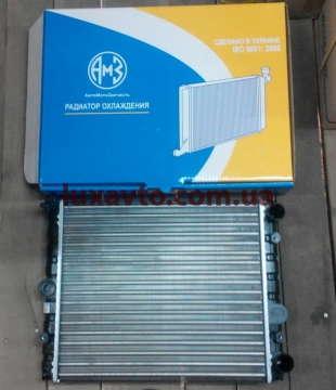 Радиатор основной Таврия 1102, Славута АМЗ Луганск с заглушкой датчика радиатора