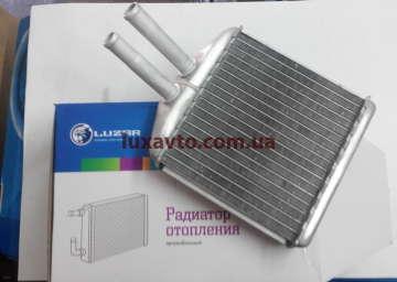 Радиатор печки (отопителя) Дэу Ланос (Daewoo Lanos) Luzar (алюм-паяный)