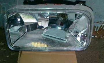 Фара противотуманная Шевроле Авео (Chevrolet Aveo) (1) T 200 левая DM