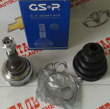 Шрус Шевроле Авео 1.5 (Chevrolet Aveo) наружный с АБС (22x22 зуба), T200 и T250 GS-P