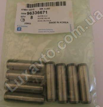 Направляющая втулка клапана Дэу Ланос 1.6 (Daewoo Lanos), Шевроле Авео 1.6 (Chevrolet Aveo), Лачетти 1.6 (Lacetti), Нексия 1.5 16V (Nexia), Нубира 1.6 (Nubira) OE СТАНДАРТ