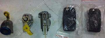 Замок зажигания с ключами и личинками (комплект) Сhery Forza (оригинал) A13