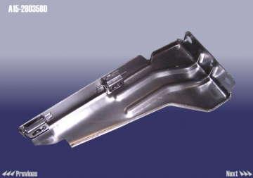 Кронштейн переднего бампера Чери Амулет A15 (Chery Amulet) левый (металл)