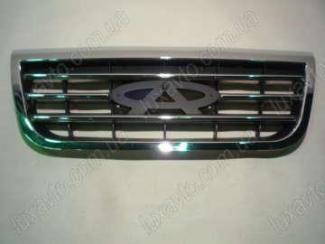 Решетка радиатора (нового образца, хромированая) Chery Tiggo [1.6, -2012г.], Chery Tiggo [2.0, -2010г.]