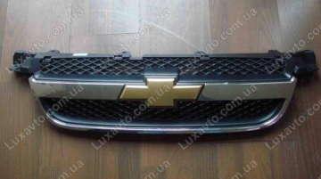 Решетка радиатора Шевроле Авео (Chevrolet Aveo) T250 DAEEI (OE)