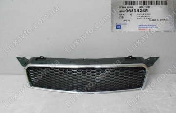 Решетка радиатора Шевроле Авео (Chevrolet Aveo) T255 HB GM