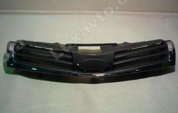 Решетка радиатора (черная, под эмблему Chery) Chery A13 [Forza,HB], Chery A13[Forza,Sedan]