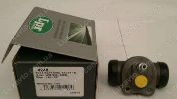 Тормозной цилиндр задний Дэу Ланос 1.6 (Daewoo Lanos), Шевроле Авео 1.6 (Chevrolet Aveo), Дэу Нексия 16 клап. (Nexia) LPR
