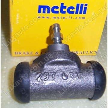Тормозной цилиндр задний Дэу Ланос 1.6 (Daewoo Lanos), Шевроле Авео 1.6 (Chevrolet Aveo), Дэу Нексия 16 клап. (Nexia) Metelli